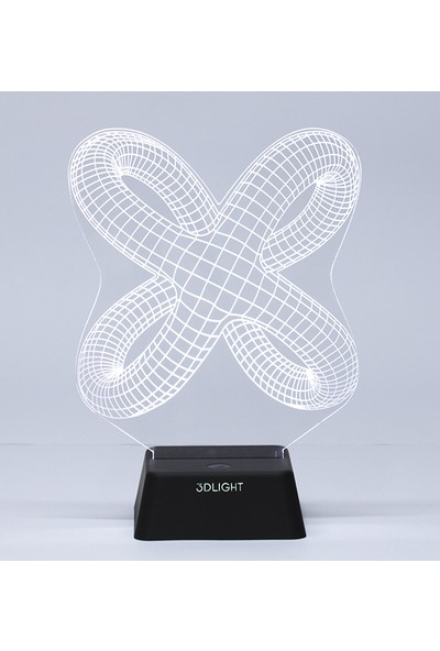 3D Light Tribal İki 3D Lamba