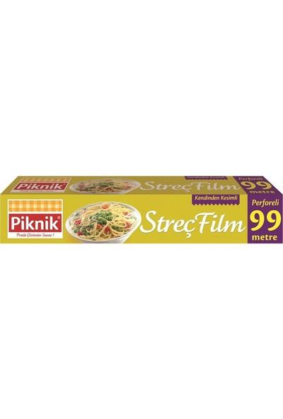 Piknik Gıda Ambalaj Streç Film Perforeli 99 Mt