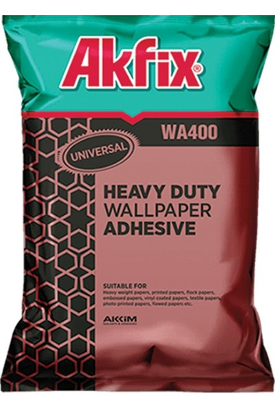 Akfix Wa400 Duvar Kağıdı Yapıştırıcı 500 Gr