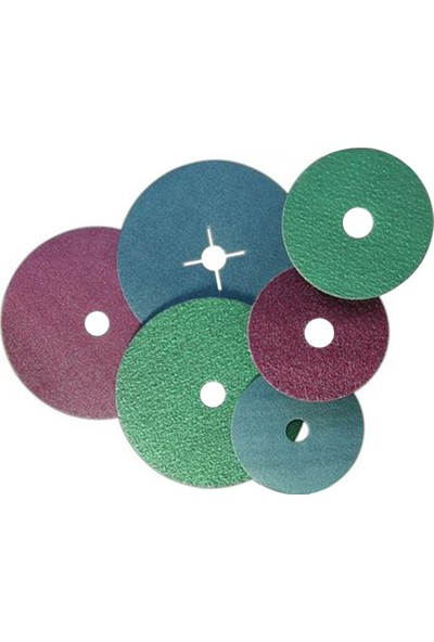 Egeli 115 Fiber Disk Zımpara C40 [Yeşil- Mermer]