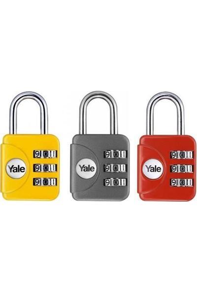 Yale Mini Şifreli Geniş Asma Kilit Yp1281211