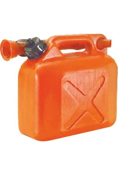 Tuna 304 Plastik Benzin Bidonu 5Lt