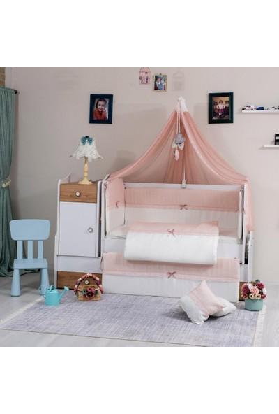 Mini Baby Fileli Bebek Uyku Seti 10 Parça 75 x 130 cm