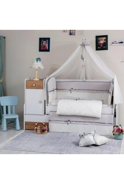 Mini Baby Queen Bebek Uyku Seti 10 Parça 75 x 130 cm