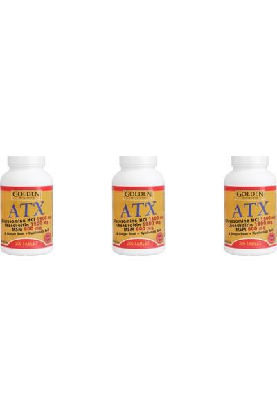 Golden Arizona Atx Glucosamine Chondroitin Msm 3 Kutu 600 Tablet