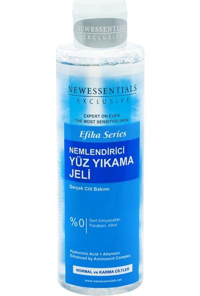New Essentials Efika Serisi Nemlendirici Yüz Yıkama Jeli Normal Ve Karma Ciltler 200 ml