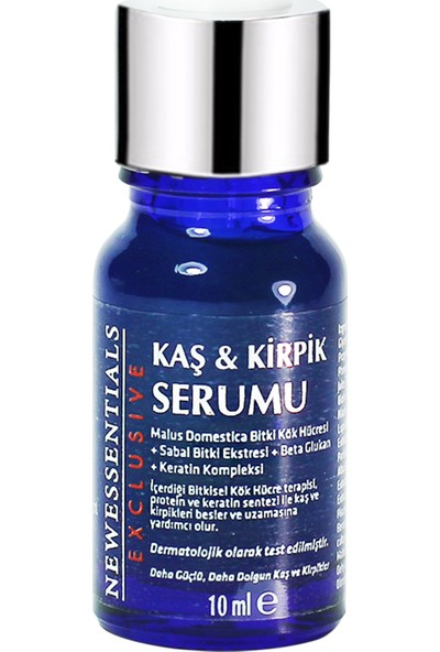 New Essentials Kaş Kirpik Serumu 10 ml