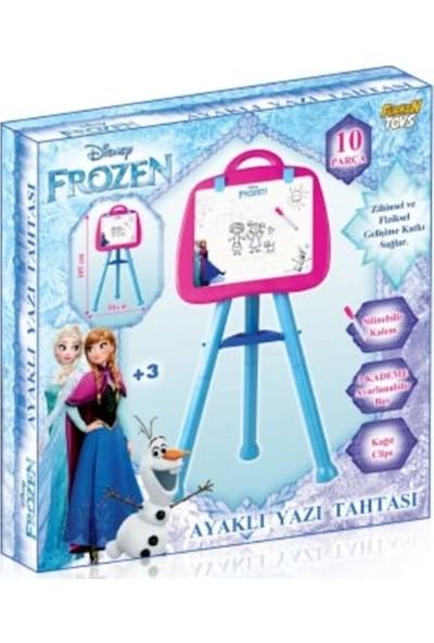Furkan Toys Disney Frozen Ayaklı Yazı Tahtası 10 Parça