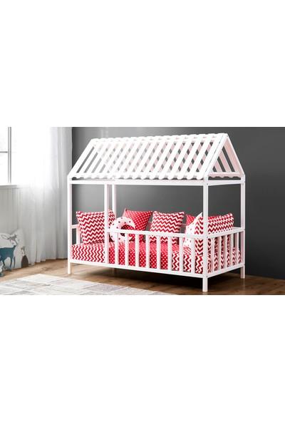 Yıldız Mobilya Montessori Yatak Beyaz - 1100 Bbt - Çocuk Karyolası