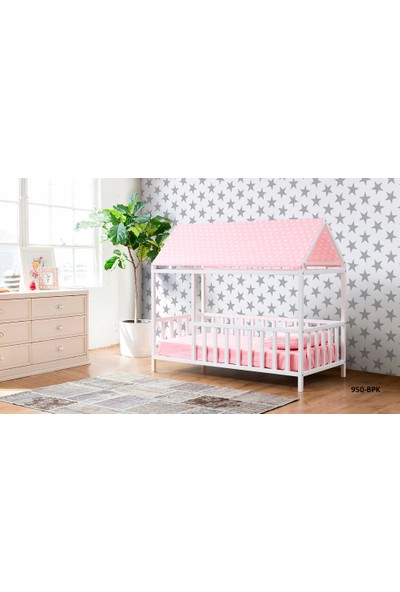 Yıldız Mobilya Montessori Yatak Pembe - 950 Bpk - Genç - Çocuk Karyolası