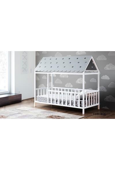 Yıldız Mobilya Montessori Yatak Gri - 1100 Bgç - Genç - Çocuk Karyolası