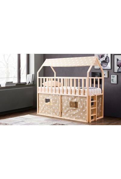 Yıldız Mobilya Montessori Yatak Naturel - 1200 Nkk - Çocuk Karyolası