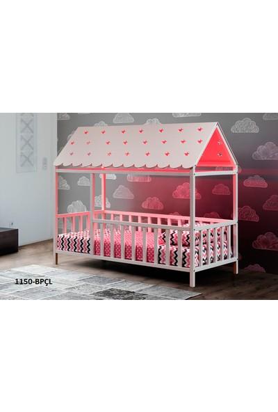Yıldız Mobilya Montessori Yatak Pembe - 1150 Bpçl - Genç - Çocuk Karyolası