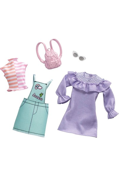 Barbie Barbie'nin Kıyafetleri İkili Paket FYW82-FXJ64