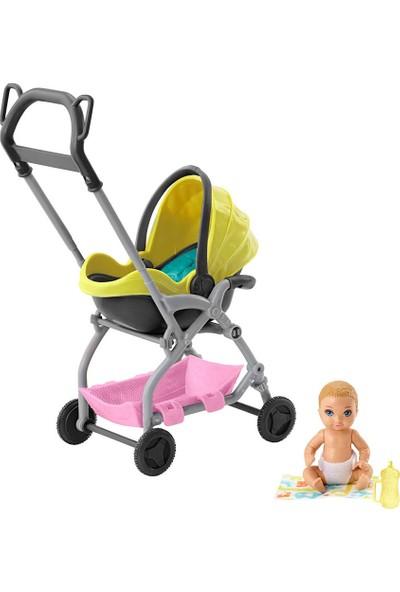 Barbie Bebek Bakıcısı Temalı Oyun Setleri FXG94-GFC18