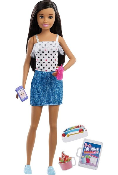 Barbie Bebek Bakıcısı Barbie Bebekler FHY89-FXG92