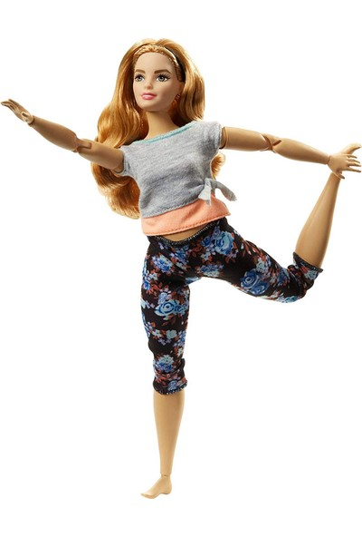 Barbie Sonsuz Hareket Bebekleri FTG80-FTG84