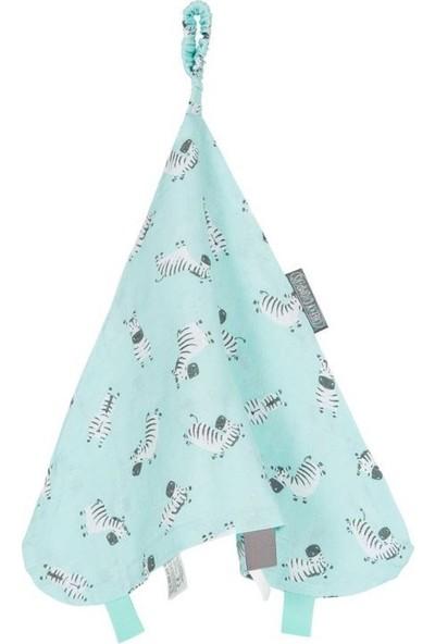 Cheeky Chompers 803 Muslin Comforter Zebra Dreams