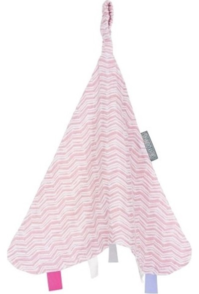 Cheeky Chompers 804 Muslin Comforter Rosy Days