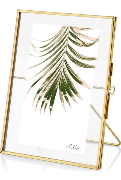The Mia Brass Çerçeve 16 x 11 cm