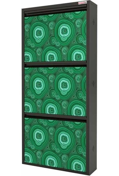 Pappuchbox Metal Ayakkabılık Pappuchbox 3lü UV3000