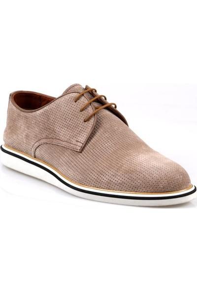 Greyder 63188 Erkek Vizon Nubuk Günlük Ayakkabı