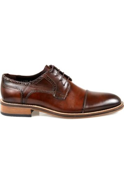 Pierre Loti Erkek Kahverengi Deri Klasik Ayakkabı