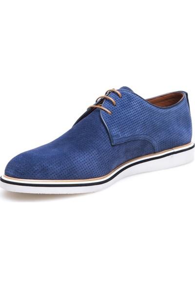 Greyder 63188 Erkek Lacivert Nubuk Günlük Ayakkabı