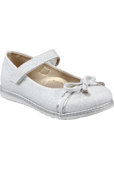 Pingu Kız Çocuk Ortapedik Beyaz Günlük Ayakkabı