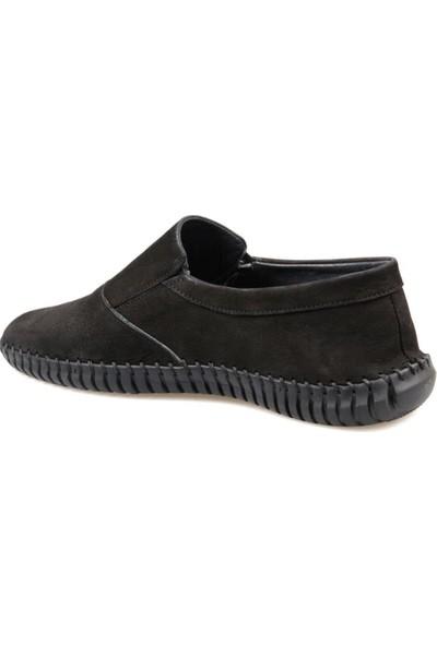 Fabiano Erkek Rahat Siyah Günlük Ayakkabı