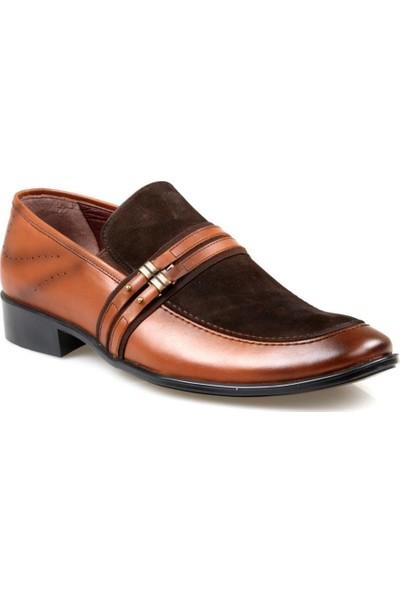 Tardelli 145 Erkek Deri Taba Klasik Ayakkabı