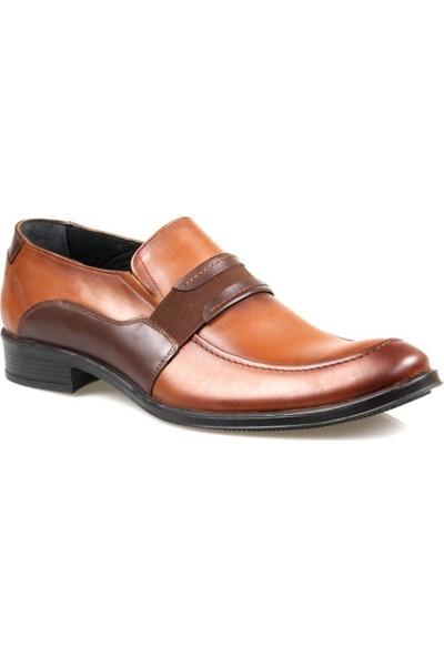 Tardelli 3603 Erkek Taba Deri Klasik Ayakkabı