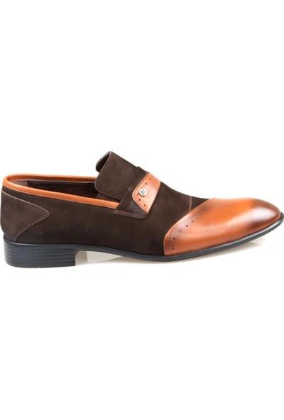 Tardelli 452 Erkek Taba Deri Klasik Ayakkabı