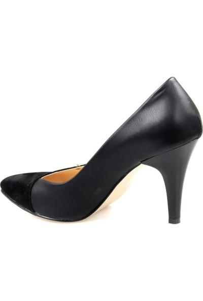 Miss Belinda Kadın Topuklu Siyah Stiletto