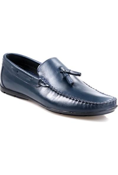 Fabiano Erkek Püsküllü Deri Günlük Ayakkabı