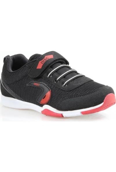 Disc Erkek Çocuk Siyah Günlük Spor Ayakkabı