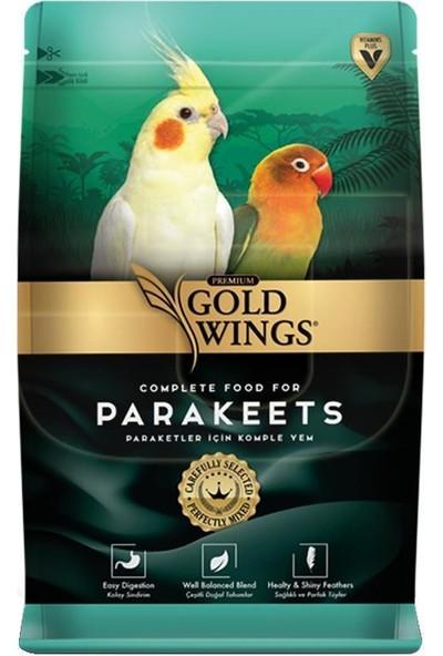 Gold Wings Premium Paraket Yemi 1 kg