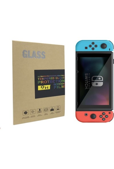 Glass Nintendo Switch Temperli Ekran Koruyucu Tempered Glass 9H