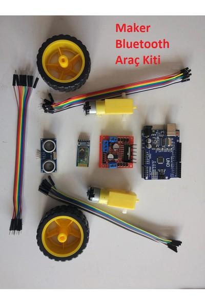 Maker Arduino Bluetooth Robot Araba Kontrol Kiti