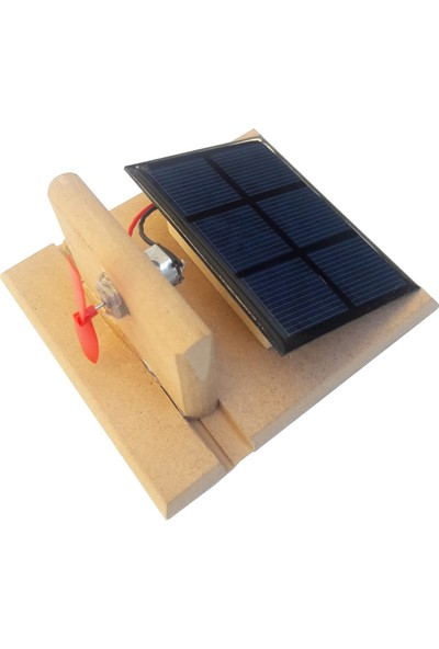 Ece Güneş Enerjisi İle Çalışan Pervane Deney Seti - Yarı Montajlı