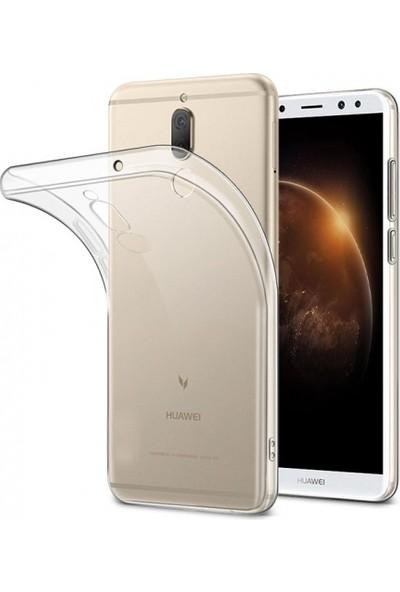 Aksesuarkolic Huawei Mate 10 Lite Kılıf Ultra Slim Kaliteli Silikon Şeffaf 0.2mm