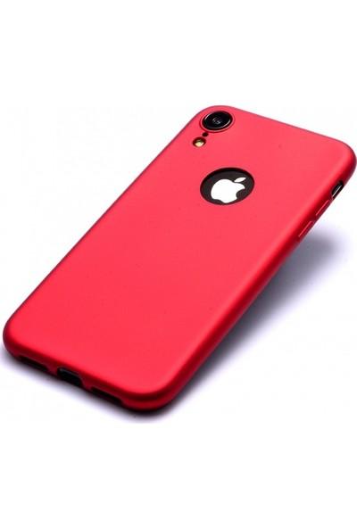 RedClick Apple iPhone Xr Kılıf Ultra Slim Yumuşak Premier Silikon - Kırmızı