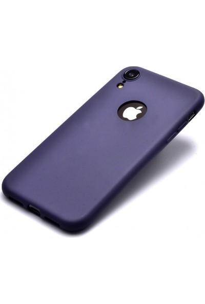 RedClick Apple iPhone Xr Kılıf Ultra Slim Yumuşak Premier Silikon - Lacivert