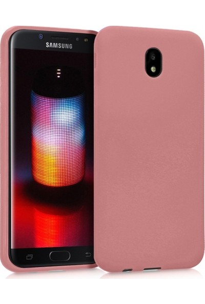RedClick Samsung Galaxy J5 Pro Ultra Slim Yumuşak Premier Silikon Kılıf - Rose Gold