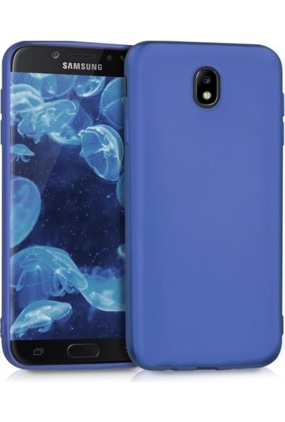 RedClick Samsung Galaxy J7 Pro Ultra Slim Yumuşak Premier Silikon Kılıf - Mavi