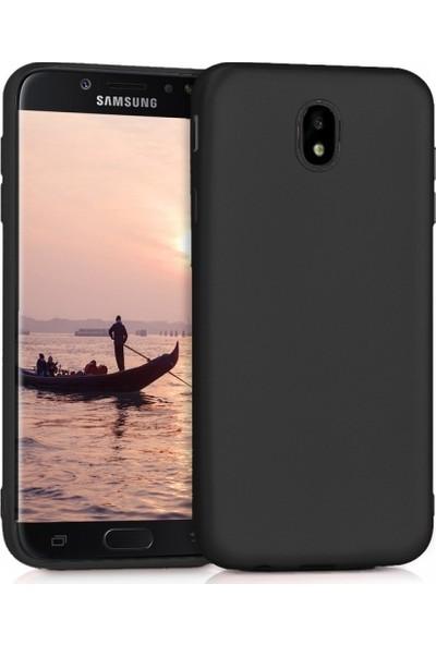 RedClick Samsung Galaxy J7 Pro Ultra Slim Yumuşak Premier Silikon Kılıf - Siyah