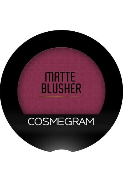 Cosmegram Mat Allık No 206