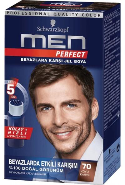 Schwarzkopf Men Perfect 70 Koyu Kahve Saç Boyası