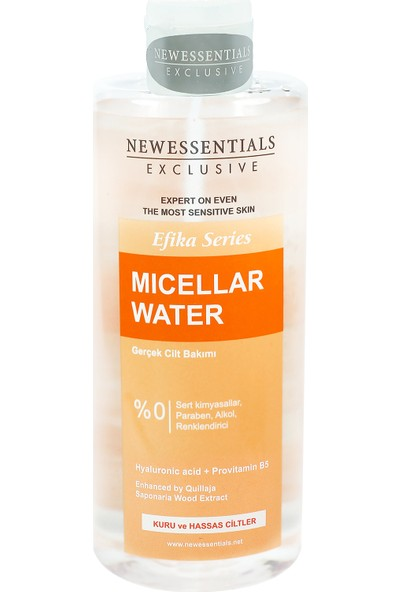 New Essentials Efika Serisi Misel Su (Micellar Water) Kuru Ve Hassas Ciltler 400 ml