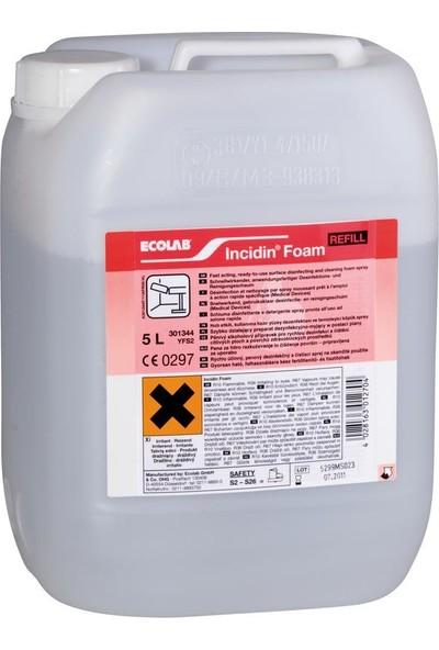 Ecolab Incıdın Foam Yüzey Dezenfektanı 5 lt